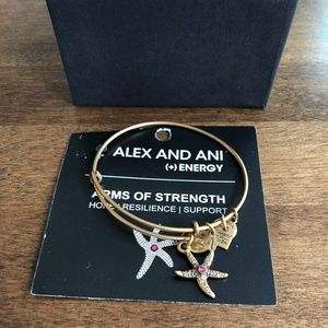 Alex and Ani Arms of Strength Bangle